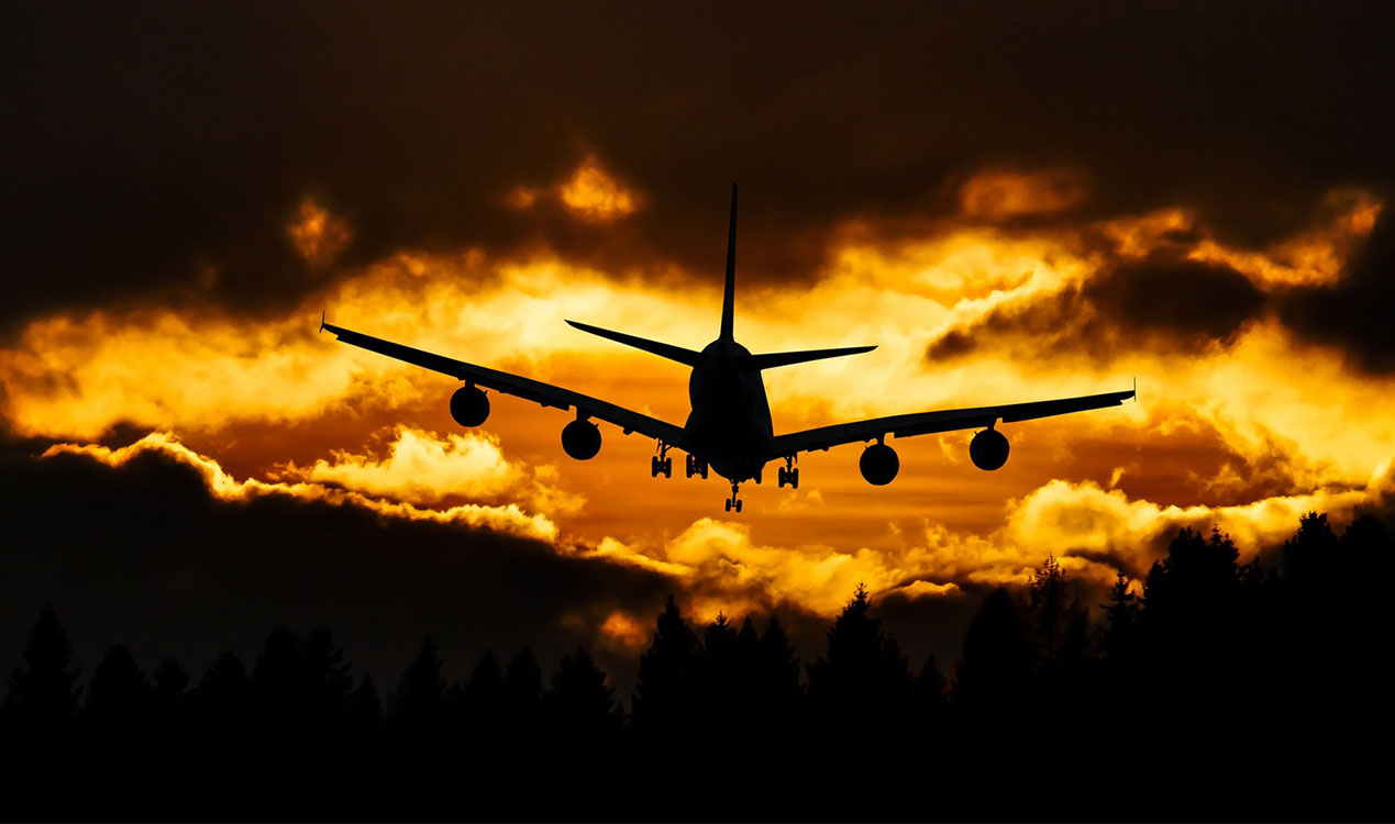 generation-x-travel-tips-aircraft-sunset